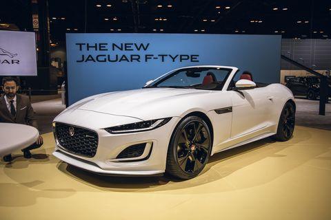 2021 Jaguar F-type convertible