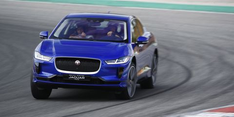The Jaguar I-Pace's Artificial Whooshing Sounds Are Actually Useful