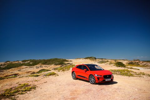jaguar i pace, drive in events, best cars, electric cars