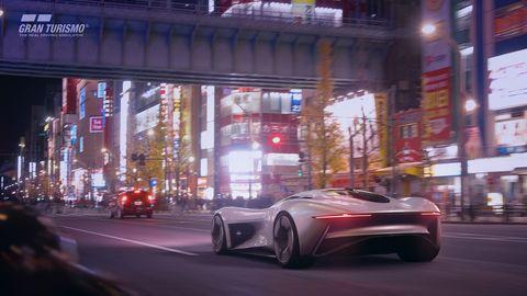 Jaguar Vision Gt Enters The Gran Turismo Sport Video Game World