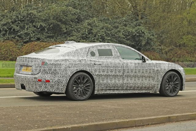 2021 jaguar xj spy photo