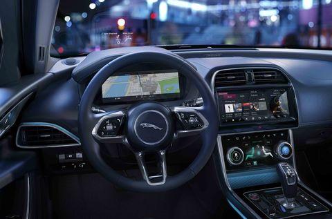 Land vehicle, Vehicle, Car, Center console, Steering wheel, Automotive design, Technology, Electronics, Personal luxury car, Gear shift,