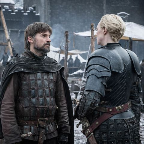 Here's what Game Of Thrones' Brienne Of Tarth wrote about Jamie Lannister in the finale