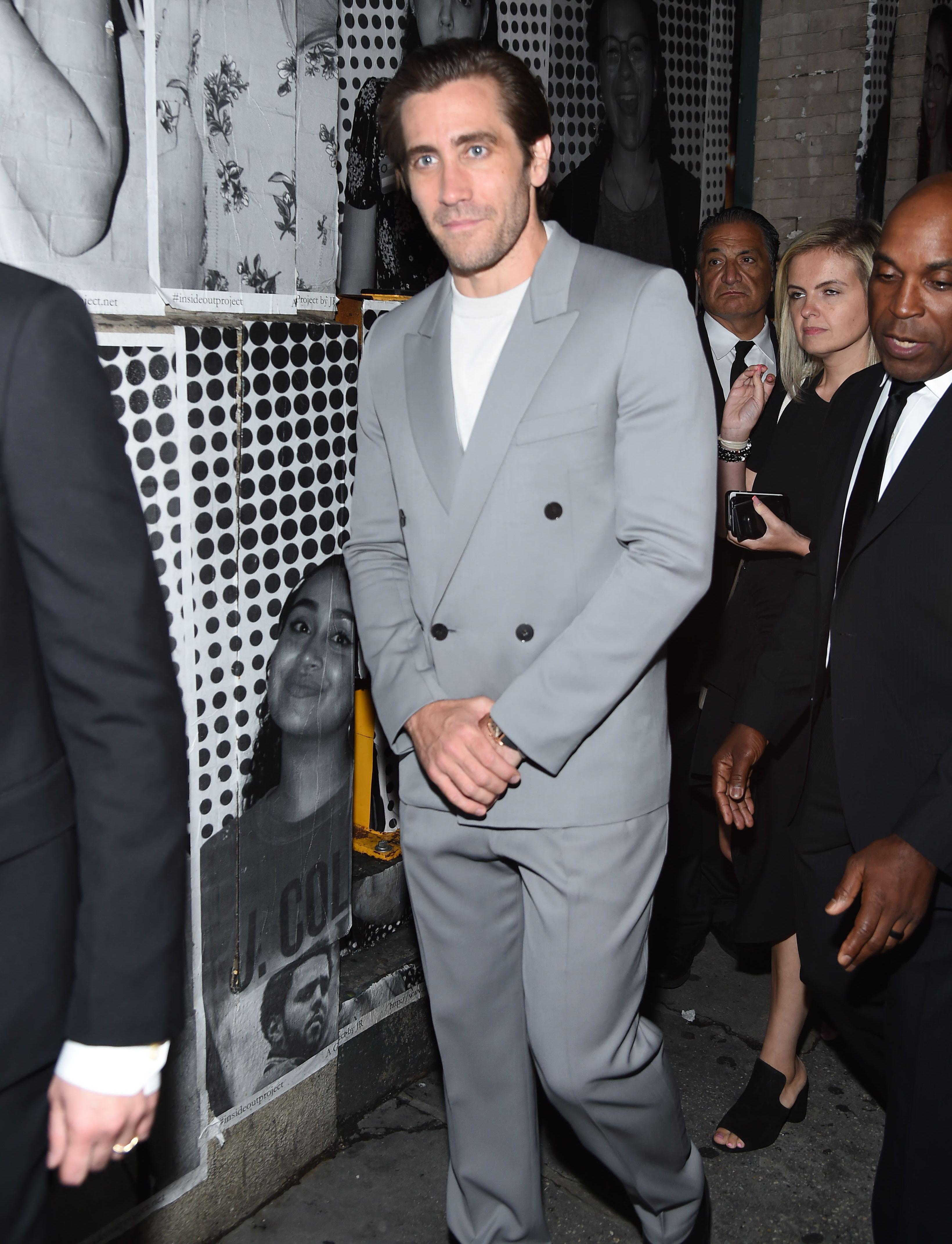 Jake Gyllenhaal's Eighties Power Suit Is Made Of Dreams
