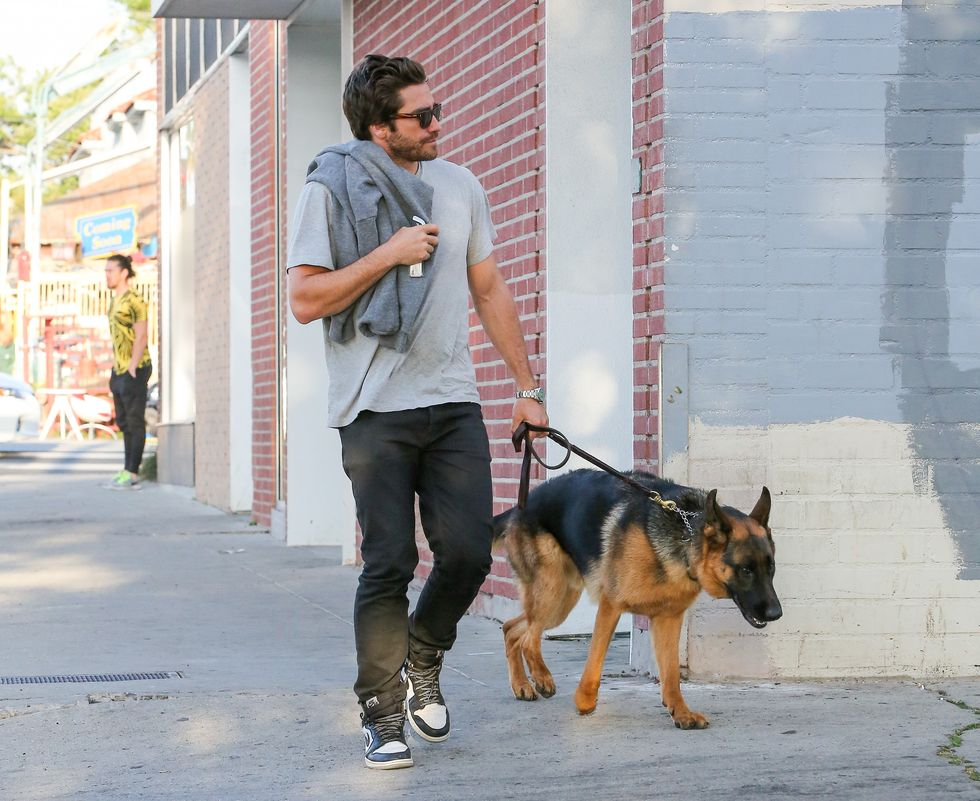 Jake Gyllenhaal and the late Atticus