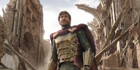 jake gyllenhaal spiderman lejos casa mysterio