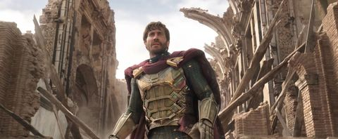 Jake Gyllenhaal as Mysterio, Spider-Man Far from Home trailer