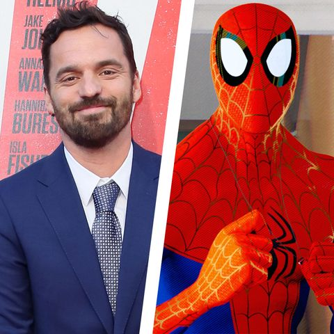 spider-man spiderverse peter parker jake johnson