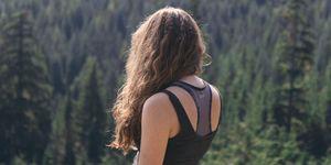 how to air dry hair - women's health uk