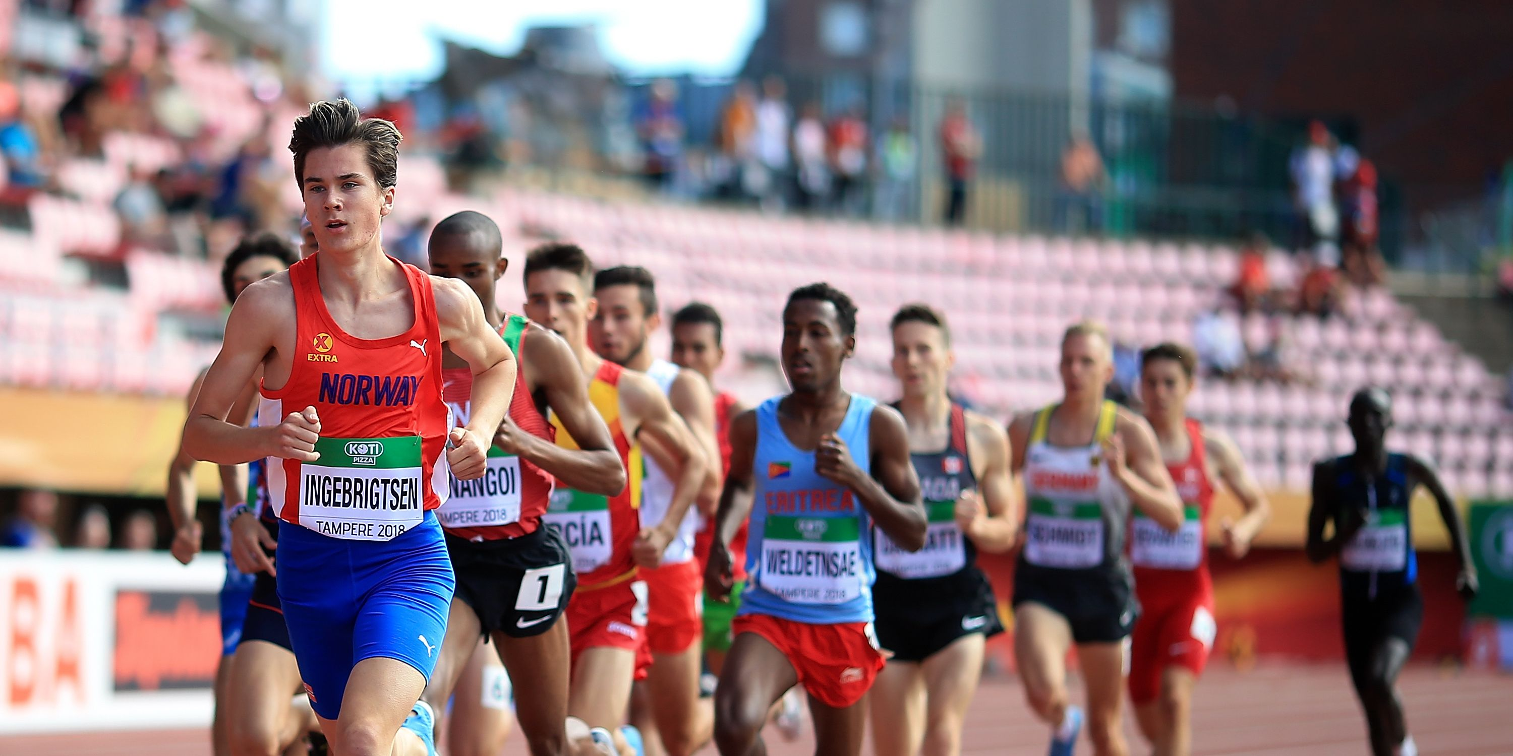 IAAF World U20 Championships - Day 1