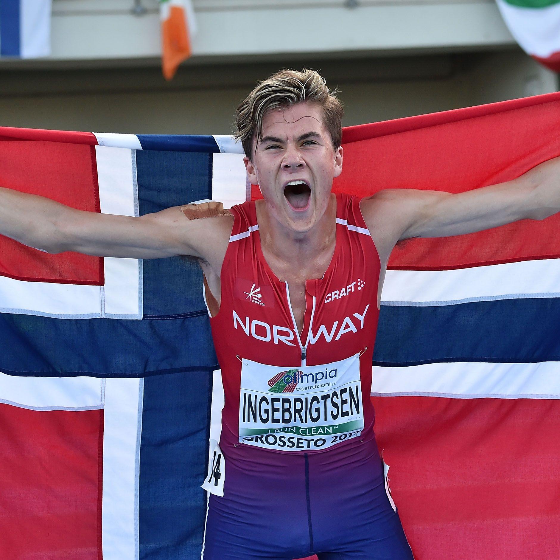 Norwegian Track Phenom Jakob Ingebrigtsen Breaks Junior 1500 Meter World Record