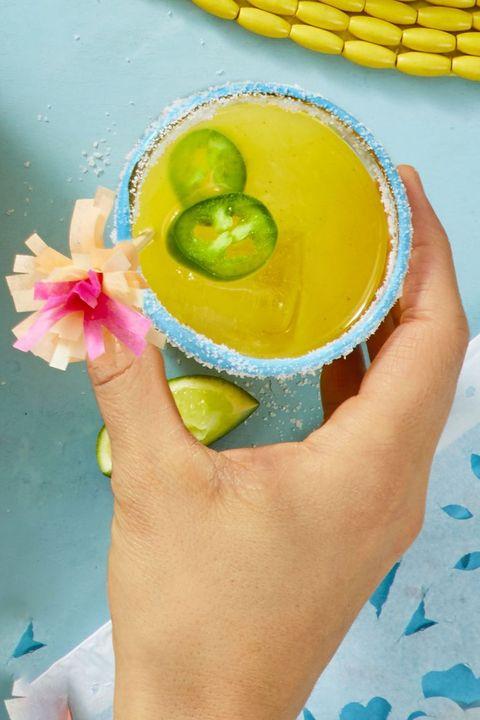 Cinco De Mayo Drinks -Jalapeño Mango Margarita