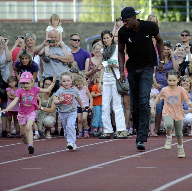 Bolt children and usain wife Usain Bolt