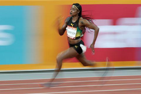 Elaine Thompson domina los trials de la velocidad jamaicana