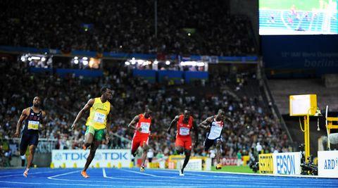 El récord mundial de Usain Bolt en Berlín cumple 10 años