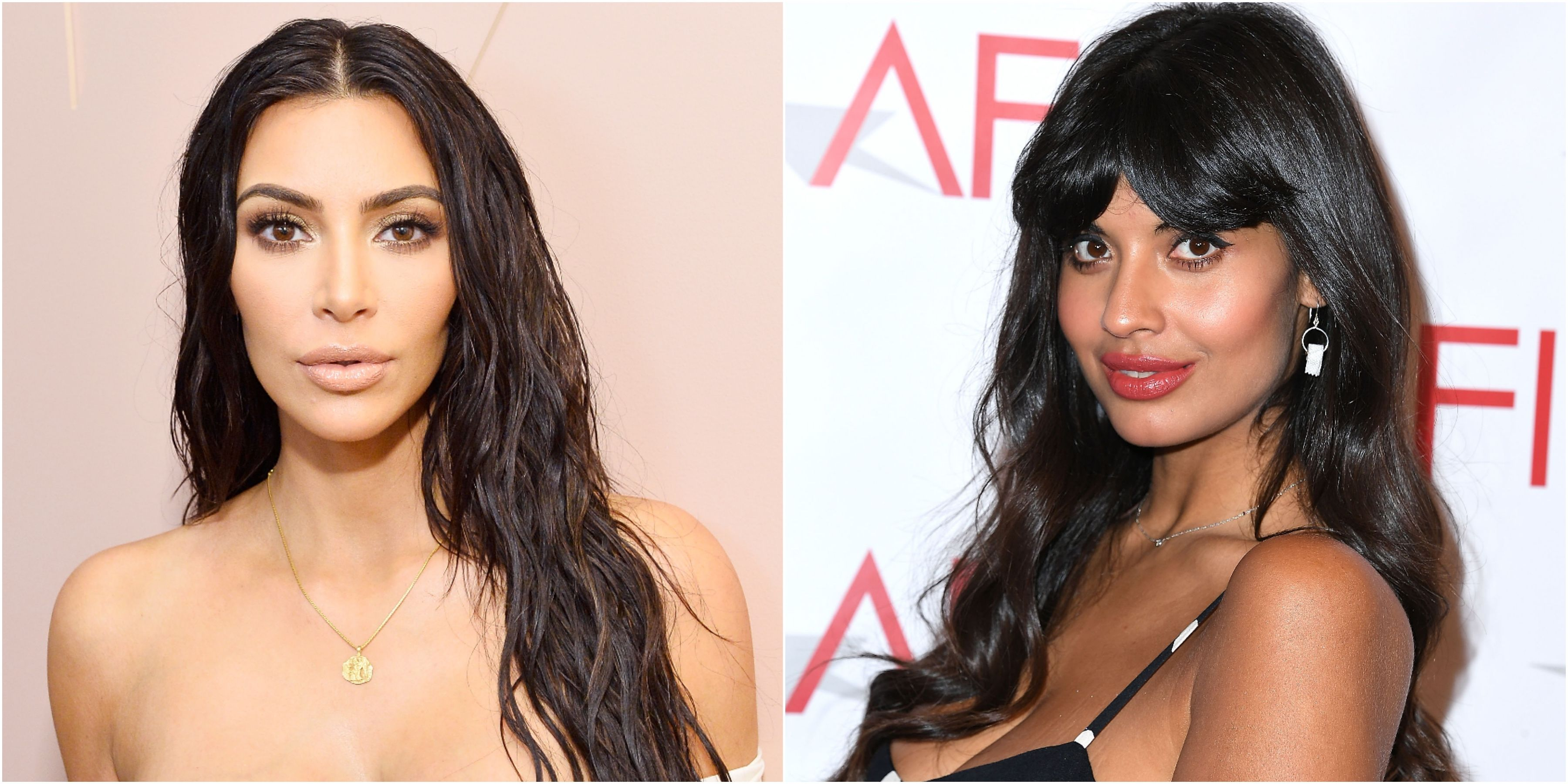 Jameela Jamil Kim Kardashian West