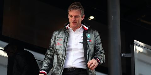 james allison, technical chief of mercedes amg,   during