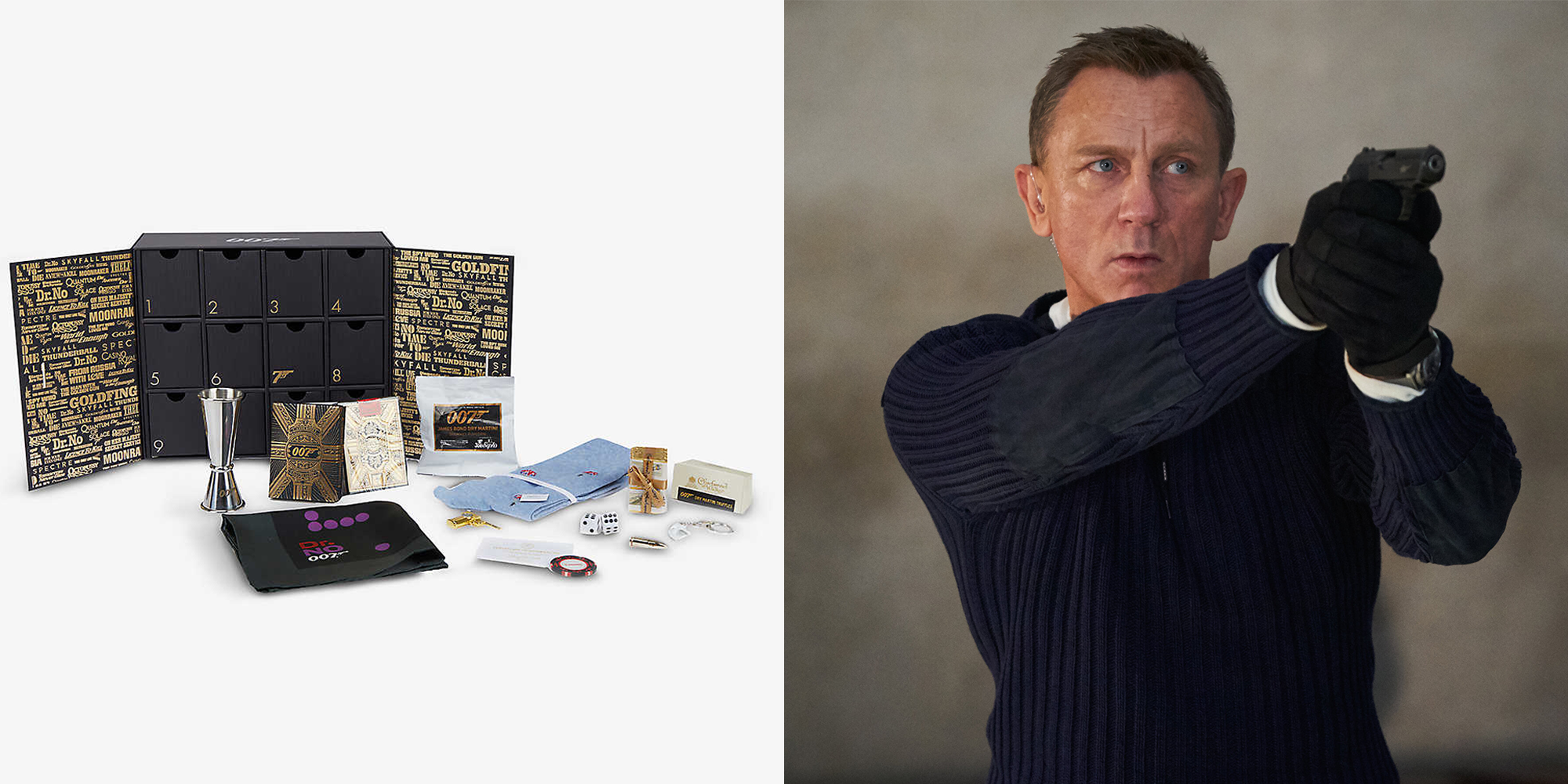 This 'No Time To Die' Advent Calendar is the Ultimate Gift for Bond Fans