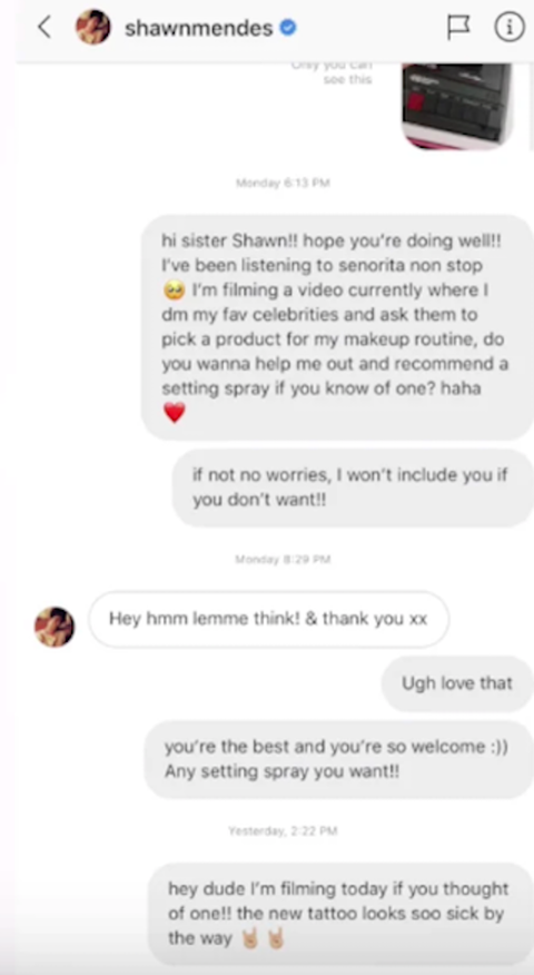 Shawn Mendes Ghosted James Charles on Instagram DM and It's SO Awkward