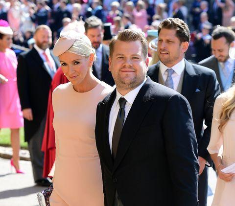 James Corden royal wedding