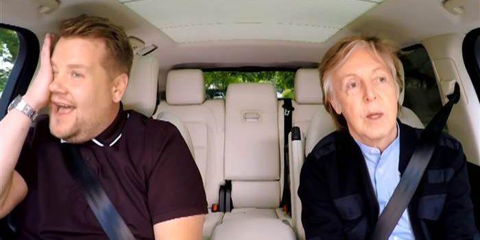 Paul McCartney Joins James Corden for an Hour-Long 'Carpool Karaoke' Special