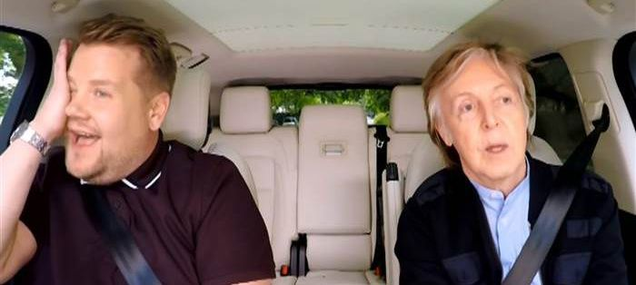 Paul McCartney Joins James Corden for an Hour-Long 'Carpool Karaoke' Special