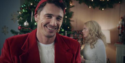 Christmas Inheritance Cast.James Franco S Fake Hallmark Christmas Movies Look