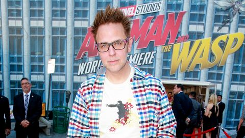 James Gunn at Ant-Man and the Wasp premiere in June 2018