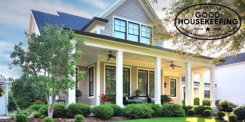 the house the good housekeeping seal built - James Hardie HardiePlank Lap Siding