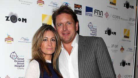 James Martin and girlfriend
