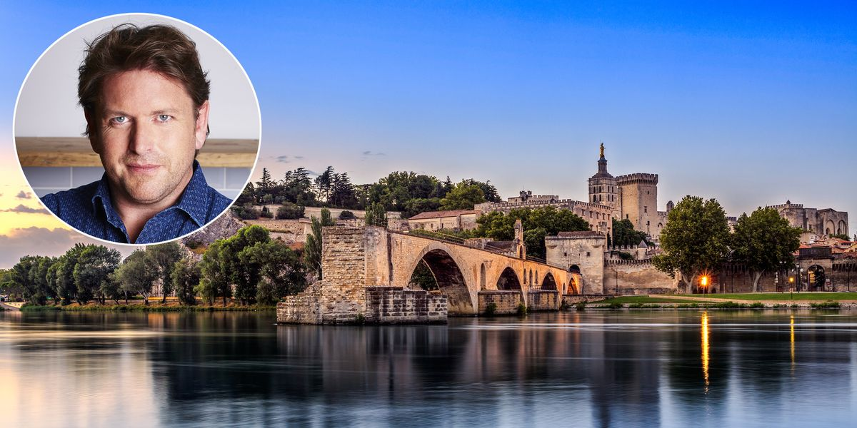 Explore France's scenic Rhone region with James Martin on our exclusive trip