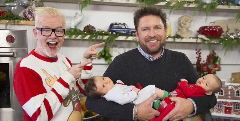 Chris Evans twins James Martin