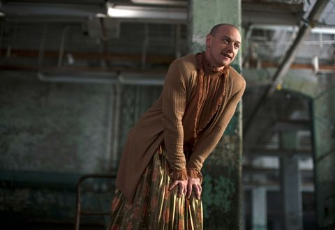 James McAvoy as Kevin Wendell Crumb/Patricia in Glass