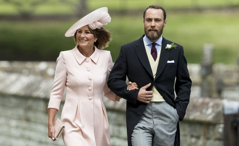 James Middleton attends the Duke and Duchess of Sussex's royal wedding