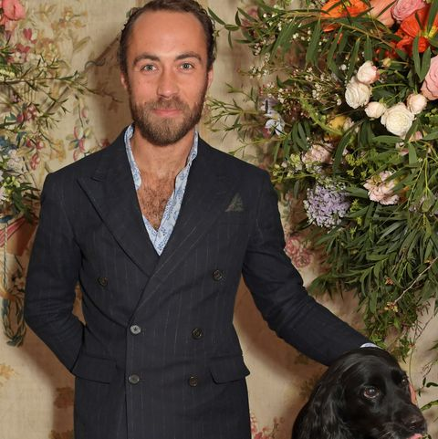 James Middleton shared the best self-isolation pic with his dogs