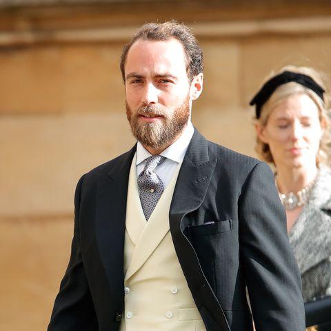 james middleton at Princess Eugenie Of York Marries Mr. Jack Brooksbank