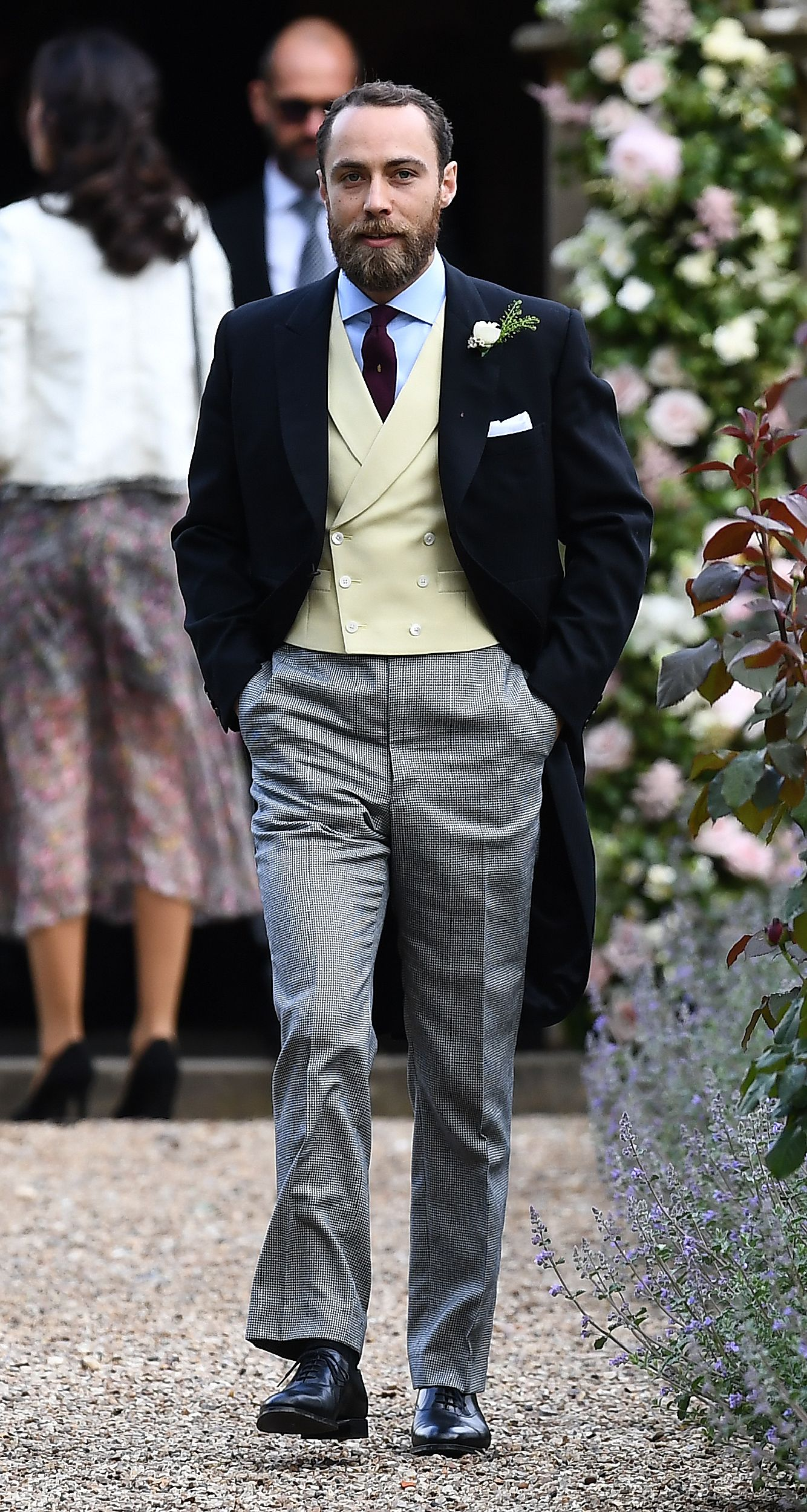 James Middleton Opens Up About Sister Kate Accompanying Him To Therapy