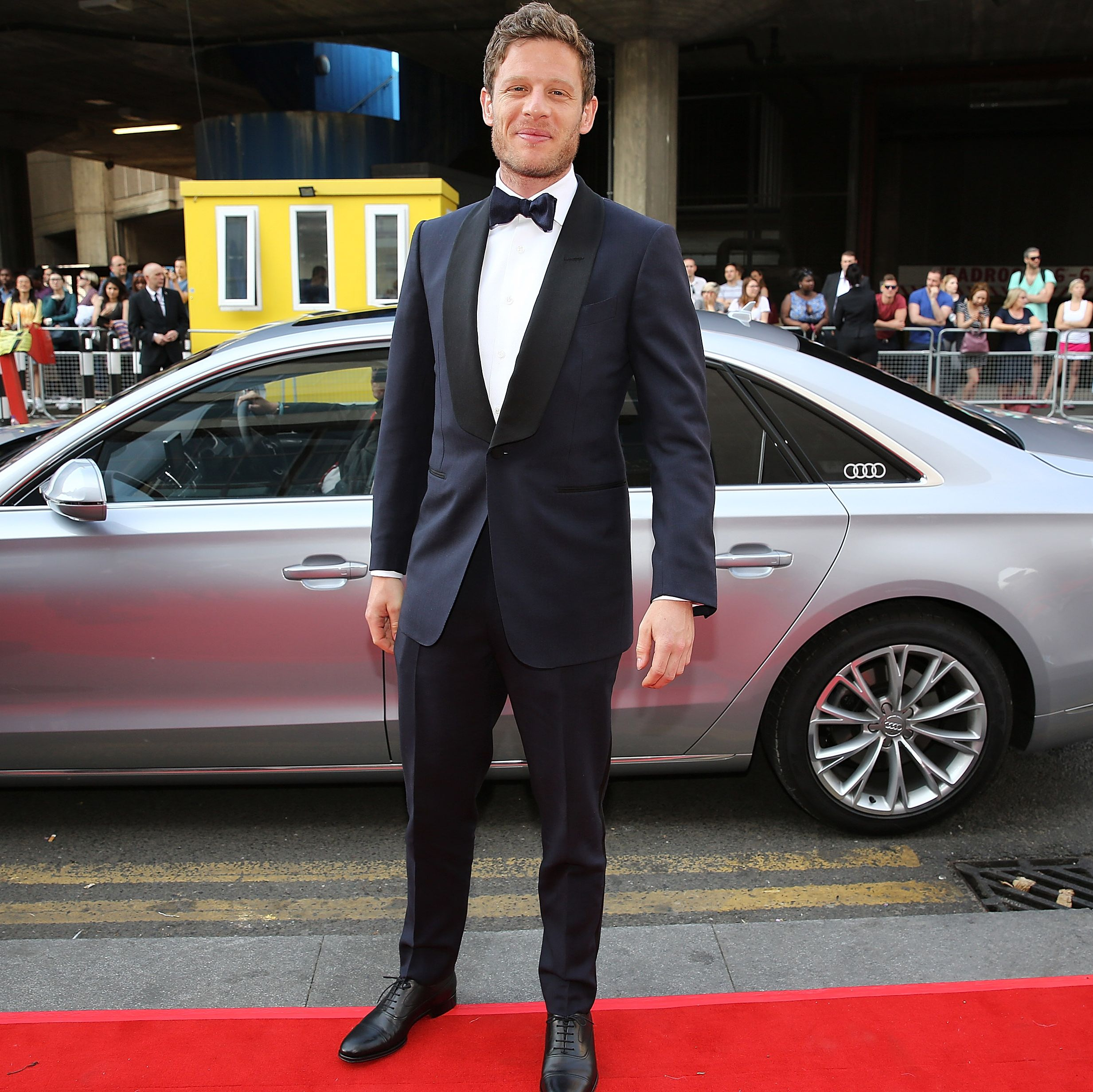 James Norton on the red carpet at the 2016 BAFTA awards. Norton is among the six men who oddsmakers consider in the running to replace Daniel Craig as James Bond.