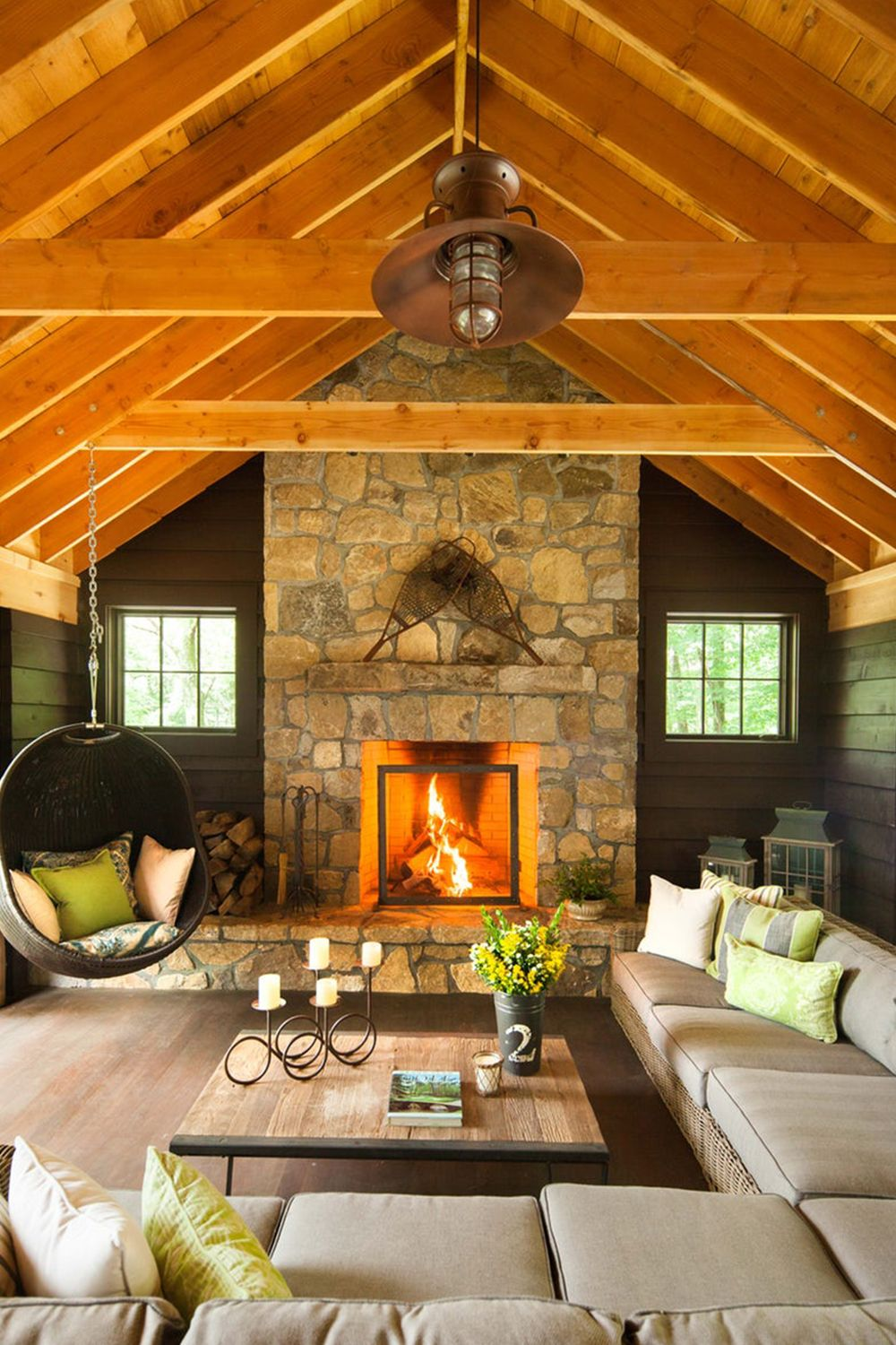32 Wood Ceiling Designs Ideas For Wood Plank Ceilings