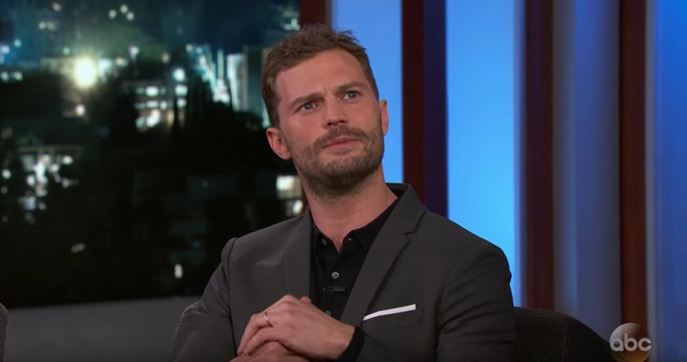 Jamie Dornan says he puts his penis in a