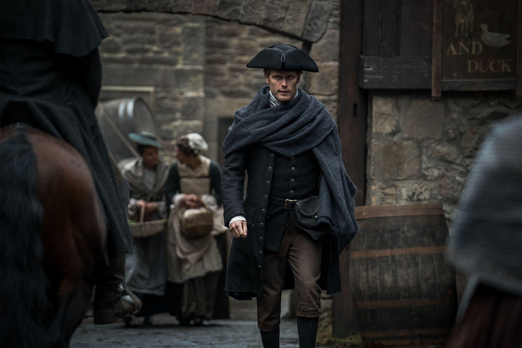 Jamie Fraser in Outlander