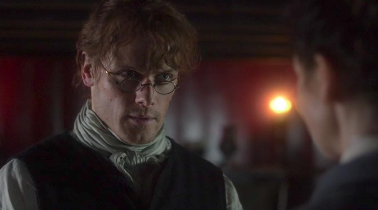 Jamie Fraser in Outlander episode 6