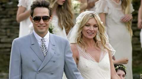 kate moss and jamie hince   wedding