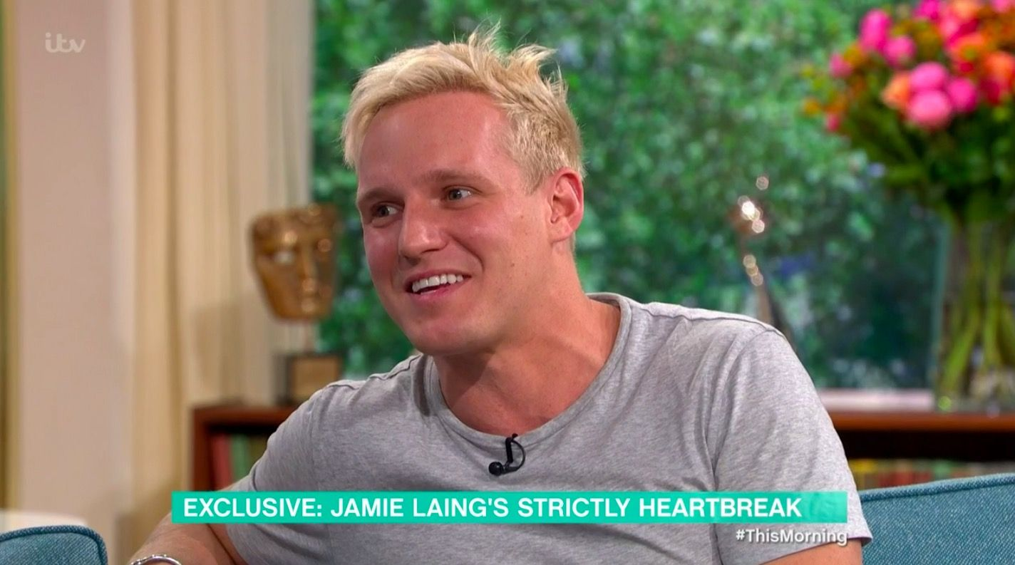 Strictly Come Dancing's Jamie Laing reveals dance partner Oti Mabuse made him continue dancing after breaking foot