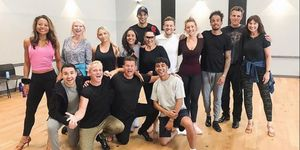 Strictly Come Dancing 2019 cast from Jamie Laing's Instagram