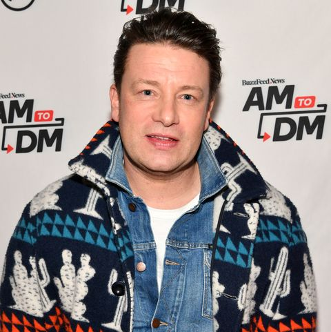 new york, new york   january 09 exclusive coverage chef jamie oliver visits buzzfeeds am to dm to discuss his new book ultimate veg easy  delicious meals for everyone on january 09, 2020 in new york city photo by slaven vlasicgetty images