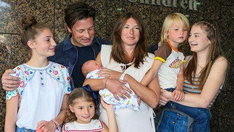 jamie oliver family