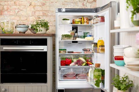 Jamie Oliver - Food Waste - fridge - Hotpoint