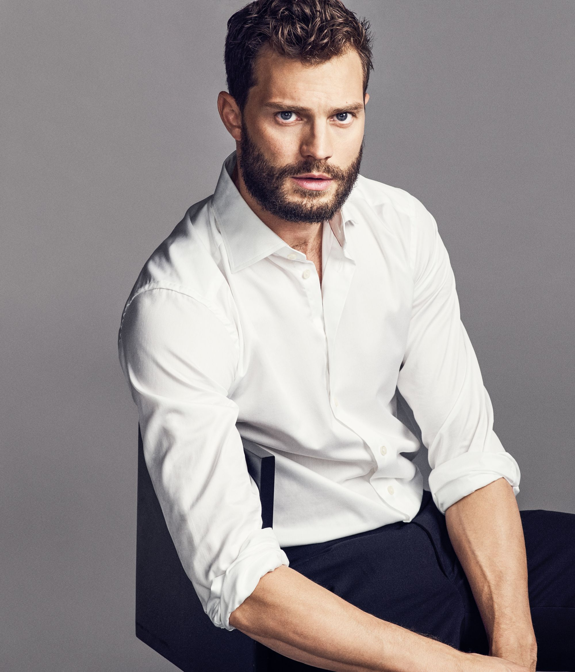 Fifty Shades Star Jamie Dornan Talks Stripping Down and