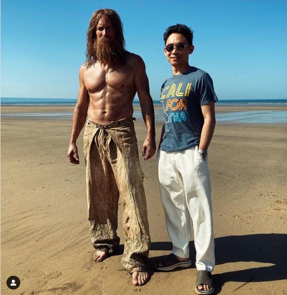 Patrick Wilson, espectacular a los 48 años para Aquaman